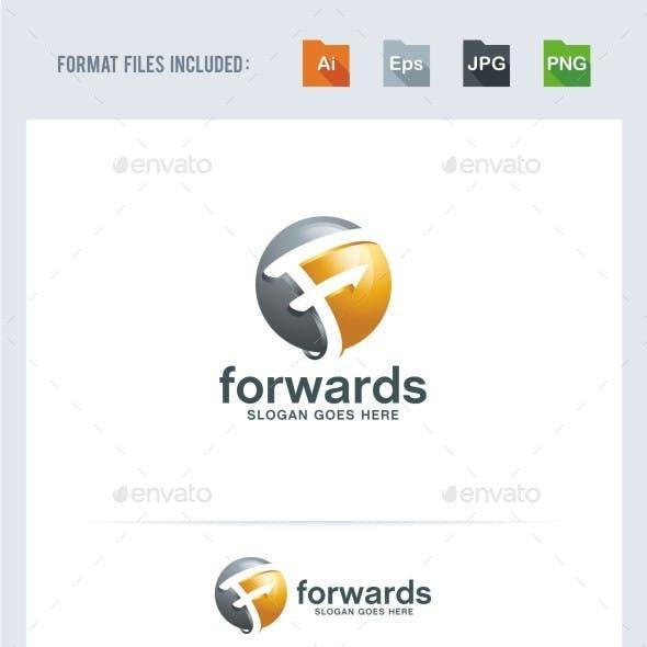 Forward - F Letter Logo Template