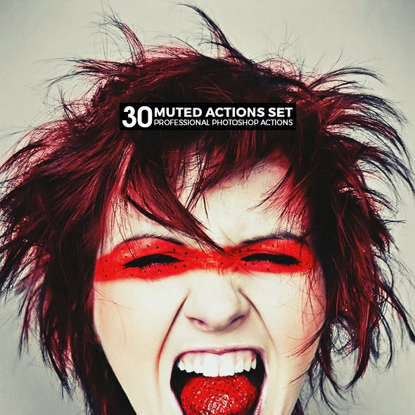 30 Muted Photoshop Actions