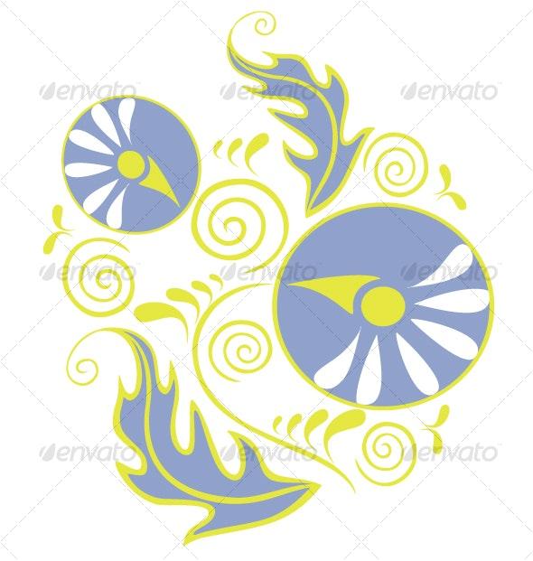 Ornament  in color  18 - Flourishes / Swirls Decorative