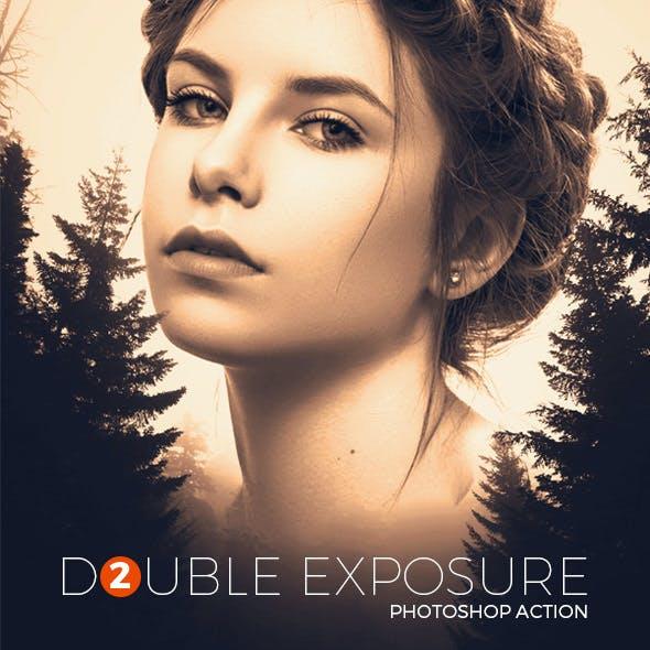 Double Exposure 2 - Photoshop Action
