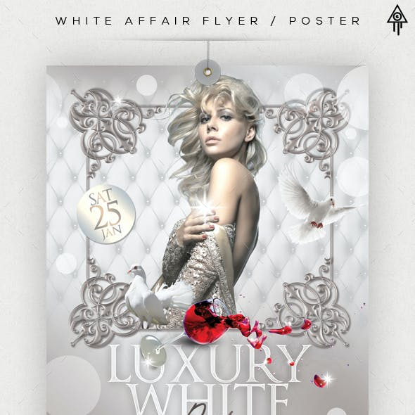 White Affair Flyer / Poster