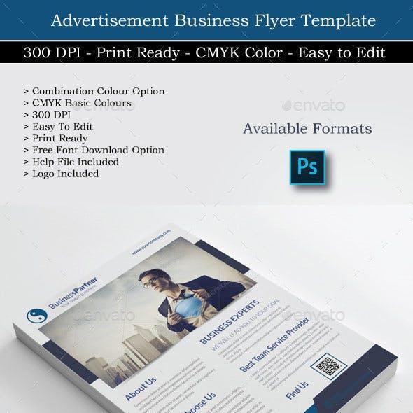 Business Partner Flyer Design