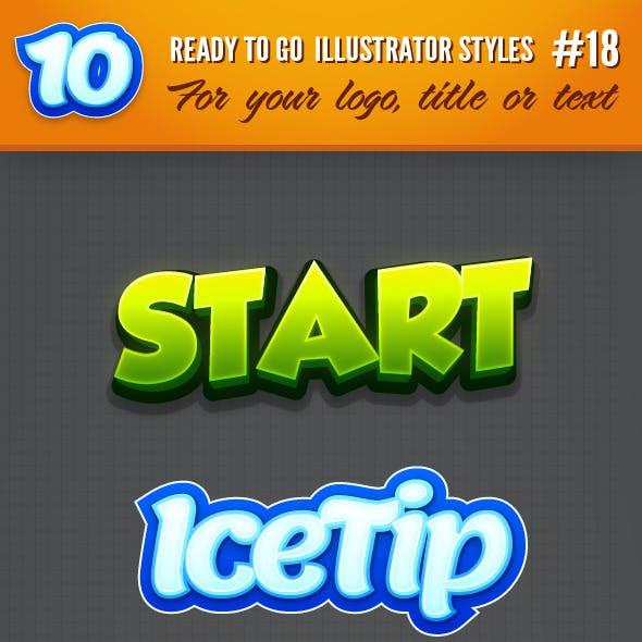 10 Logo Graphic Styles #18