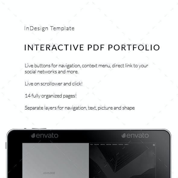Interactive PDF Prezentation iPad No5