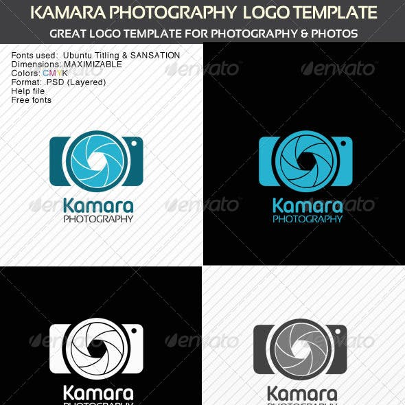 Kamara Photography Logo Template