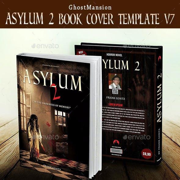 """""""Asylum 2""""  Book Cover Template v7"""