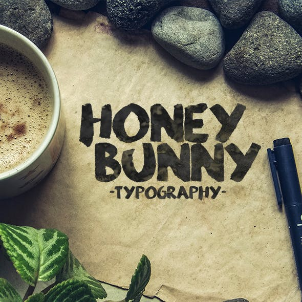 Honey Bunny Script Typeface