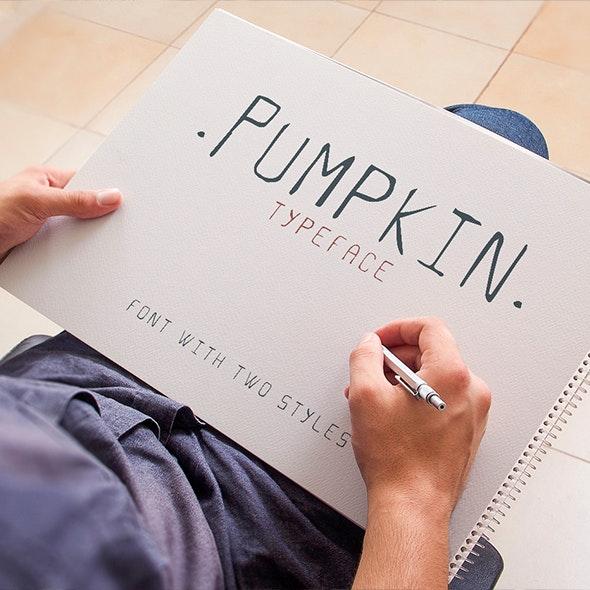 Pumpkin Script Typeface - Handwriting Fonts