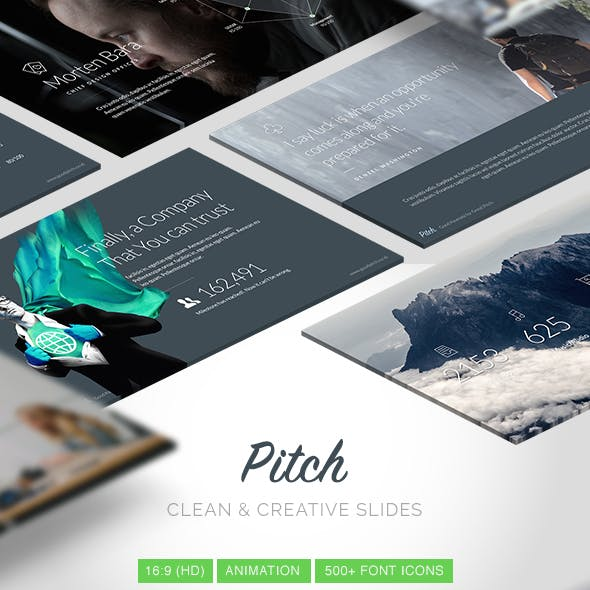 Pitch - Modern Keynote Template