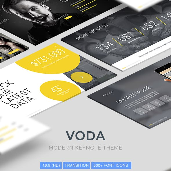 Voda - Creative Keynote Template