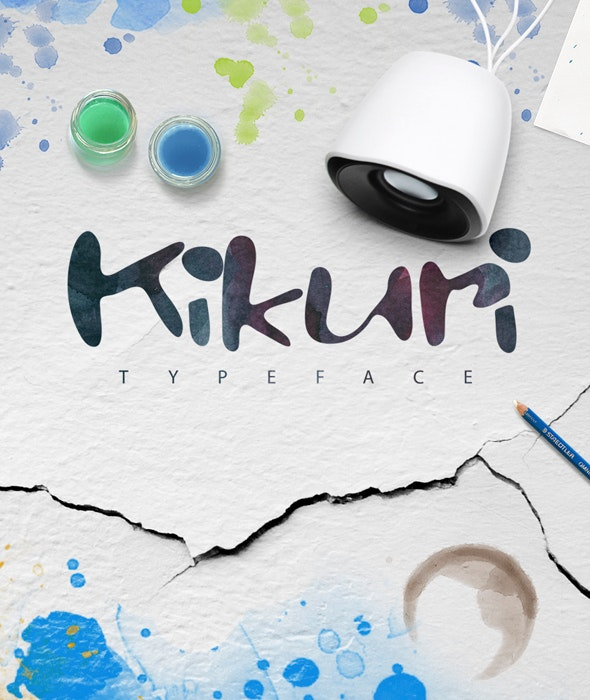 Kikuri Typeface + Extras - Handwriting Fonts