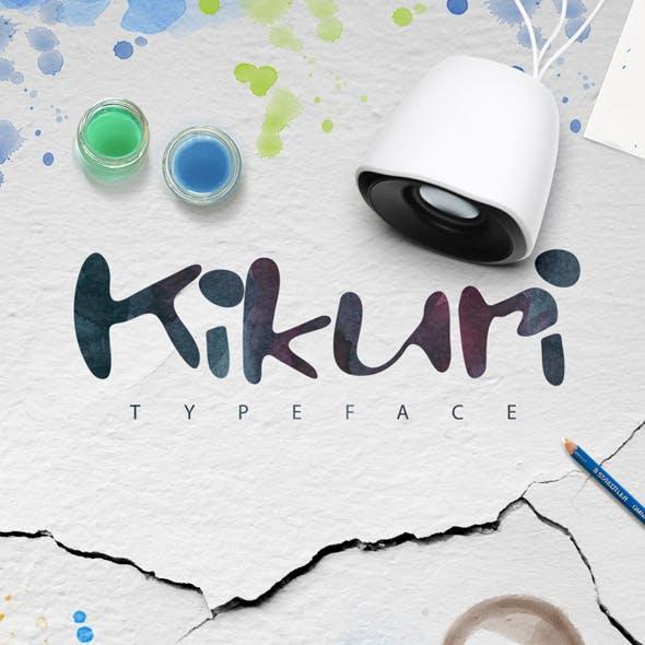 Kikuri Typeface + Extras