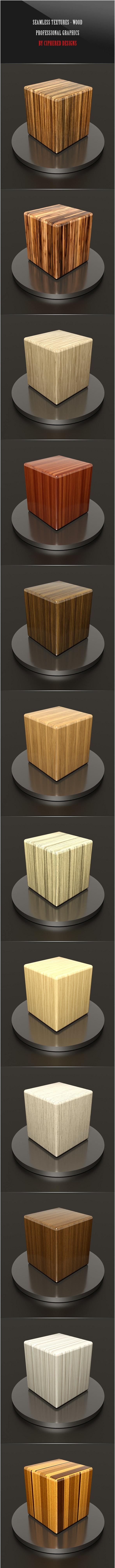 Seamless Textures - Wood - Textures / Fills / Patterns Photoshop
