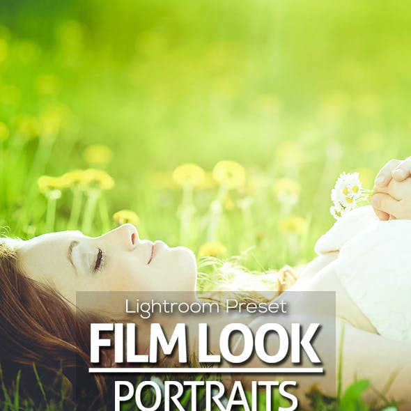 Premium Film Look Portraits Lightroom Preset