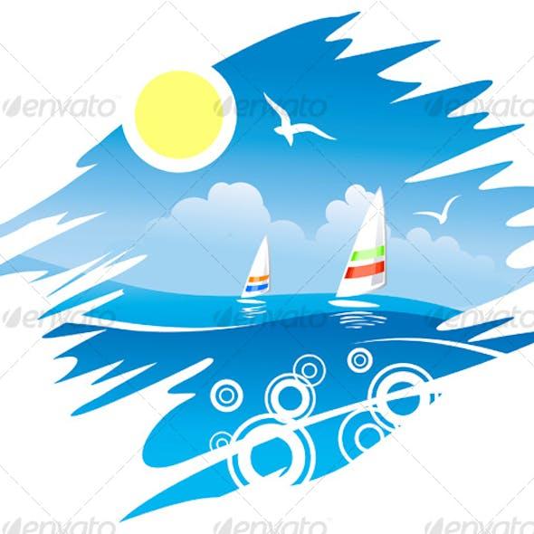 Tropical Sea Emblem
