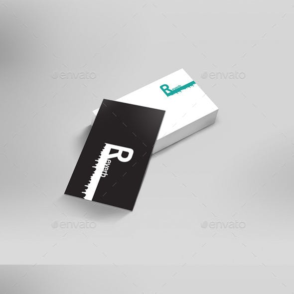 3D Business Card Mock Ups