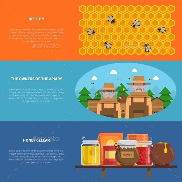 Honey Banners Set