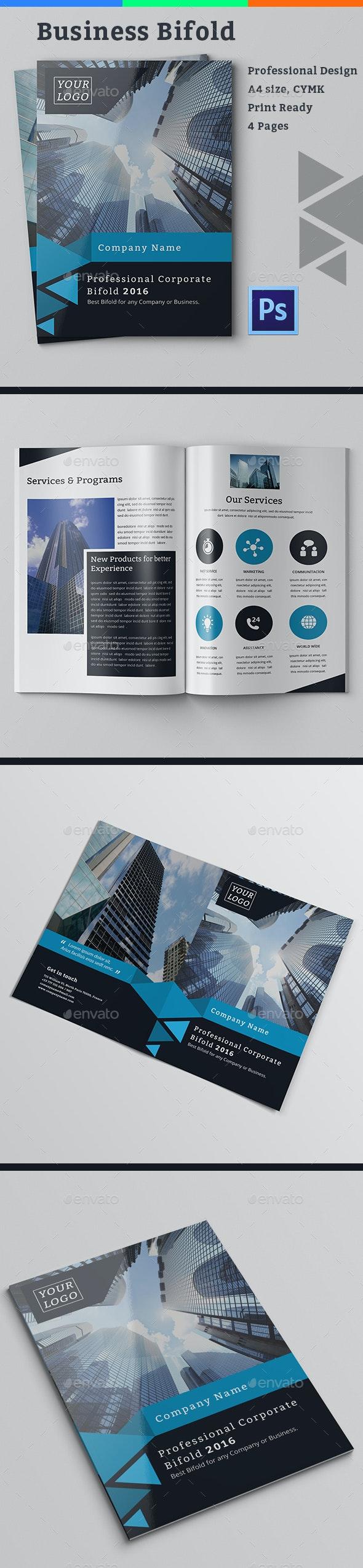 Business Bifold - Corporate Brochures