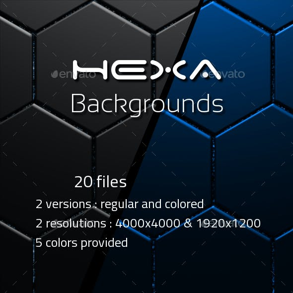 Backgrounds Sci Fi Hexa