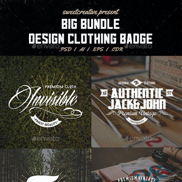 36 Badges & Labels Bundle