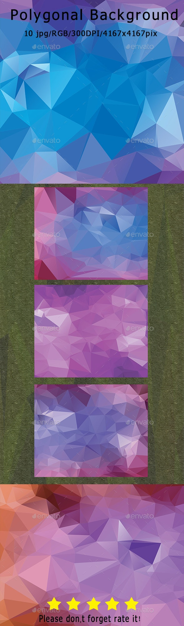 Polygonal Backgrounds - Backgrounds Graphics