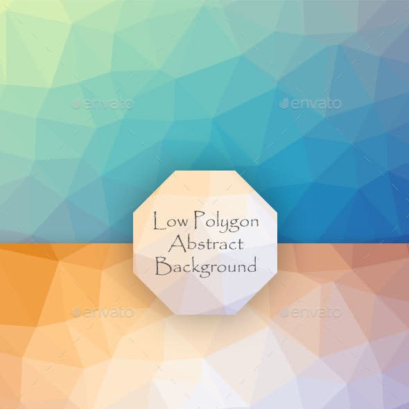 Low Polygon Abstract Background