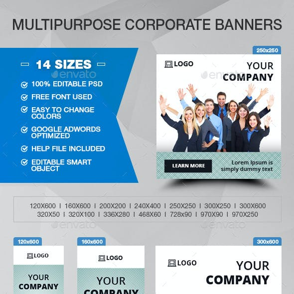 Multipurpose Corporate Banners