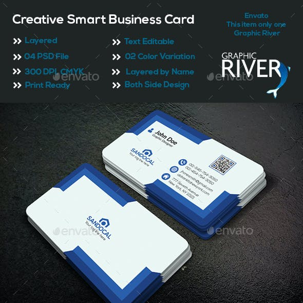Creative Smart Business Card