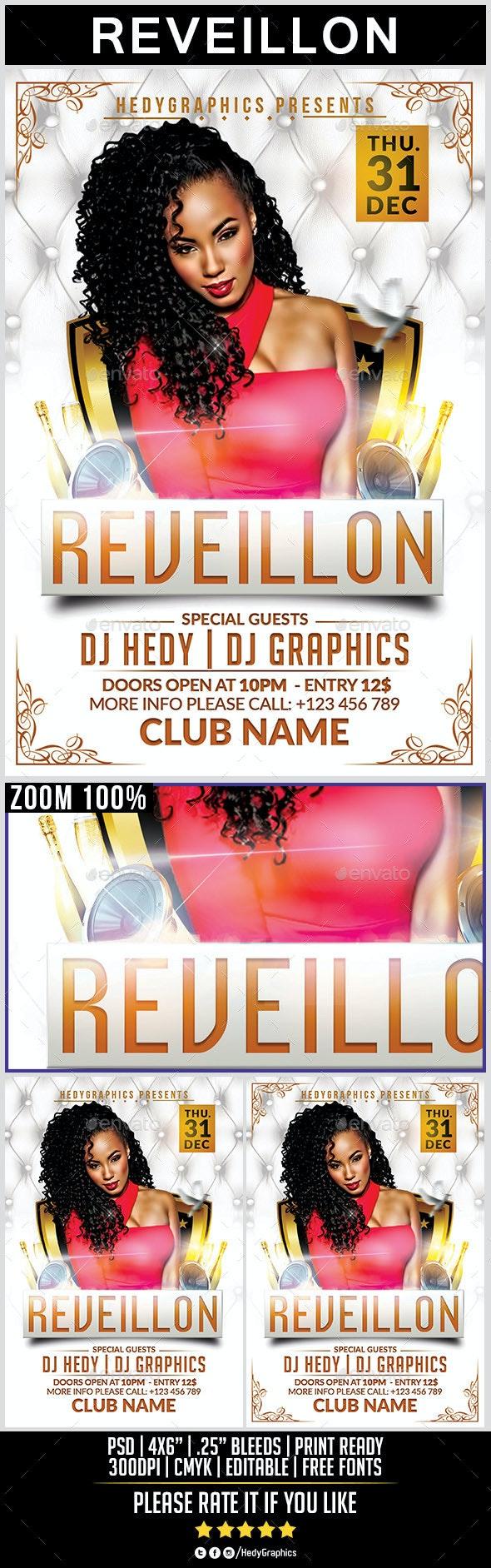 Reveillon - Flyer Template - Holidays Events