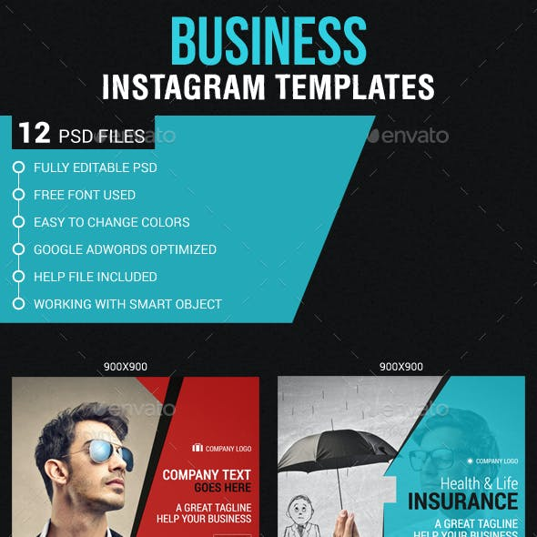 Corporate Business Instagram Banners