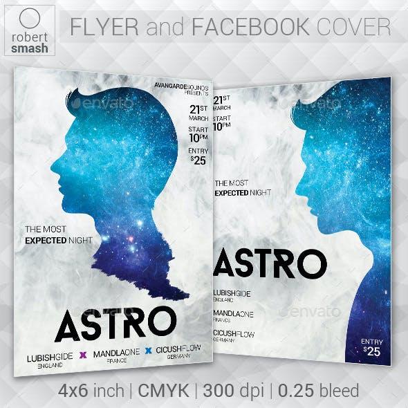 Astro Music Flyer