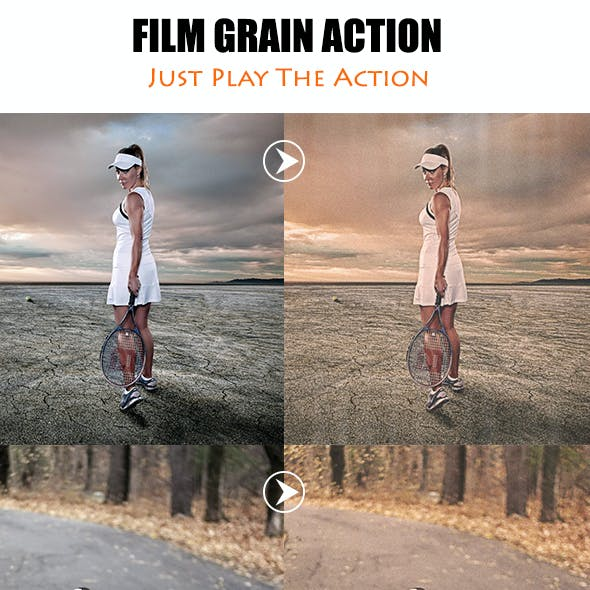 Film Grain Effect Graphics, Designs & Templates