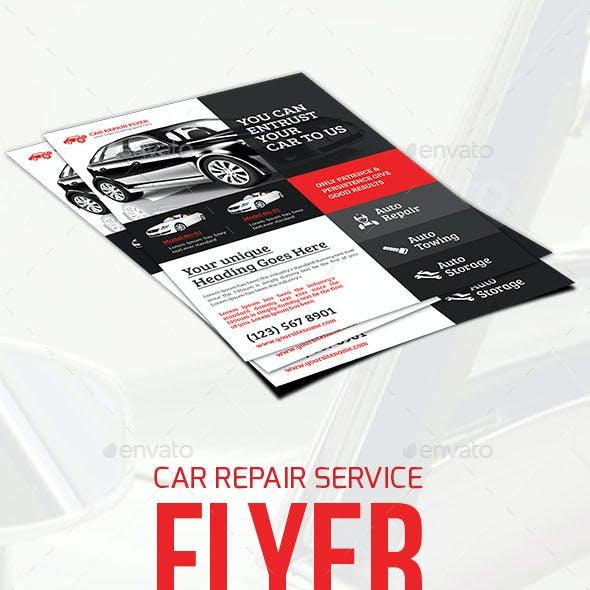 Car Repair Service Flyer