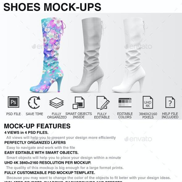 Shoes Mockup - Woman Shoes Mockup Edition