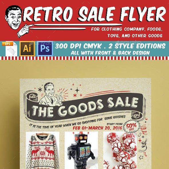 Retro Sale Flyer