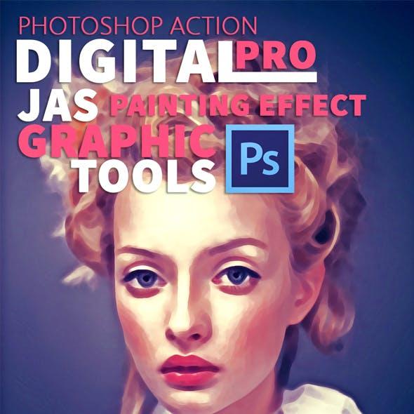 Digital Painting Effect Pro | Photoshop Action