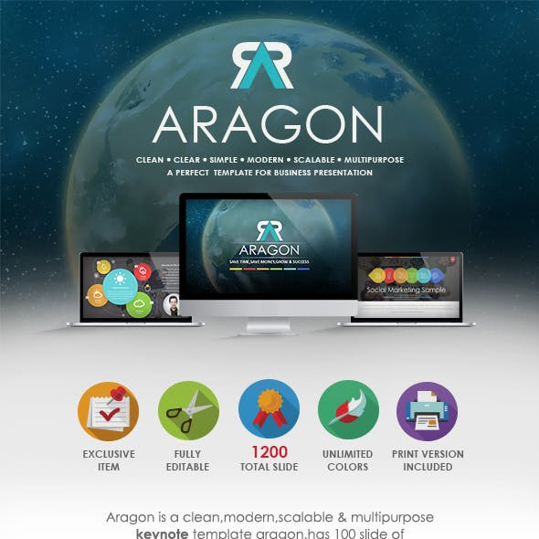 ARAGON - Multipurpose Keynote Template