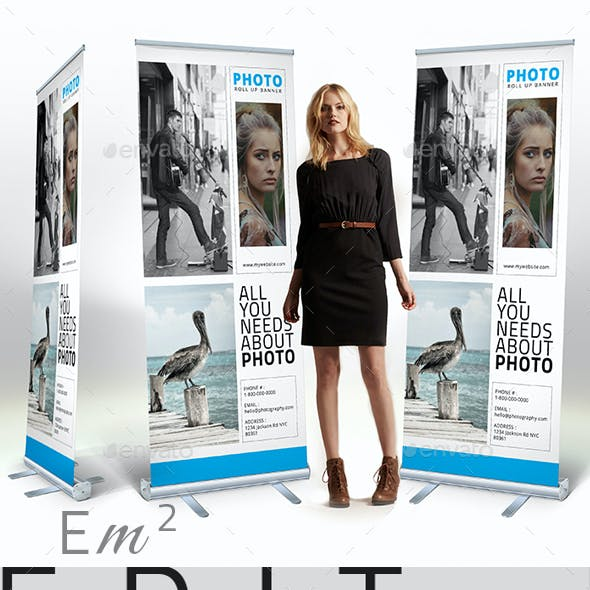Photo - Roll Up Banner Signage