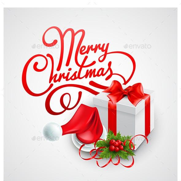 Clean Christmas Card