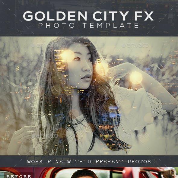 Golden City Fx Photo Template