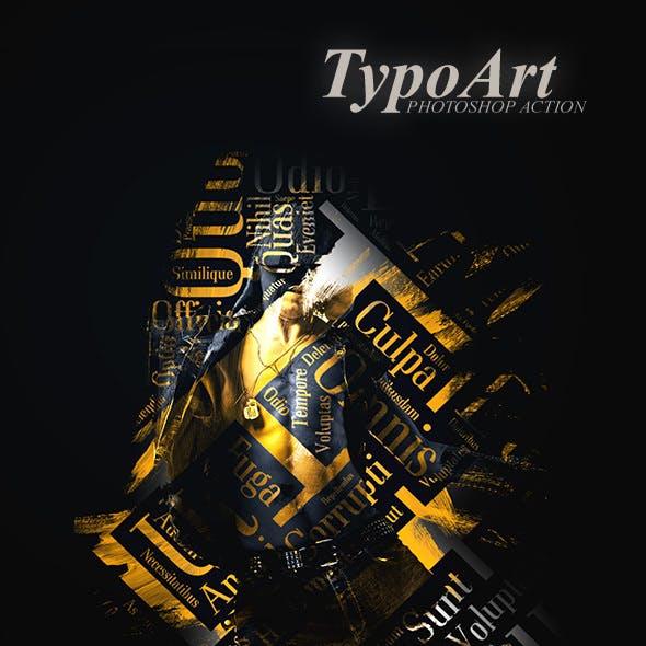 TypoArt - Photoshop Action