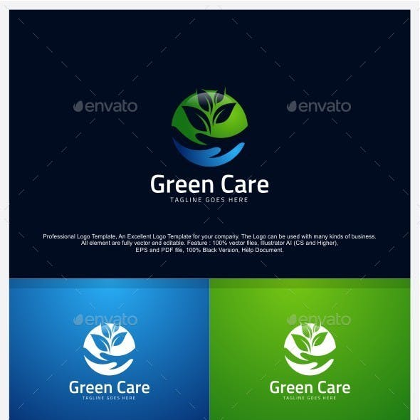 Green Care - Nature Care Logo