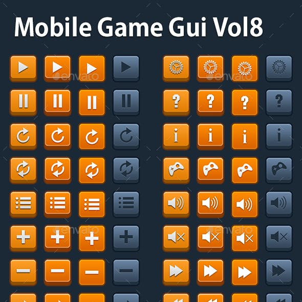 Mobile Game Gui Vol 8