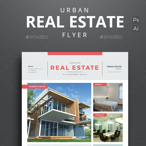 Urban Real Estate Flyer Vol 03