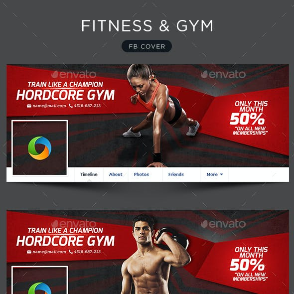 Exercise Graphics, Designs & Templates from GraphicRiver