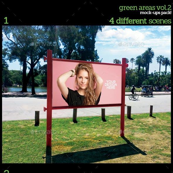 Green Areas Vol.2 Mock-Ups Pack