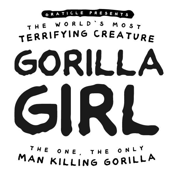 Gorilla Girl Font
