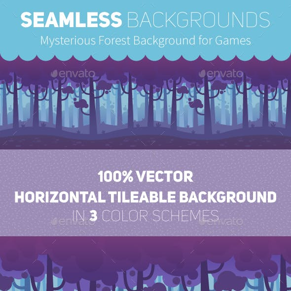 Game Seamless Forest Backgrounds