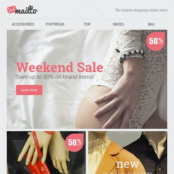 Mailto Shopping Email Template