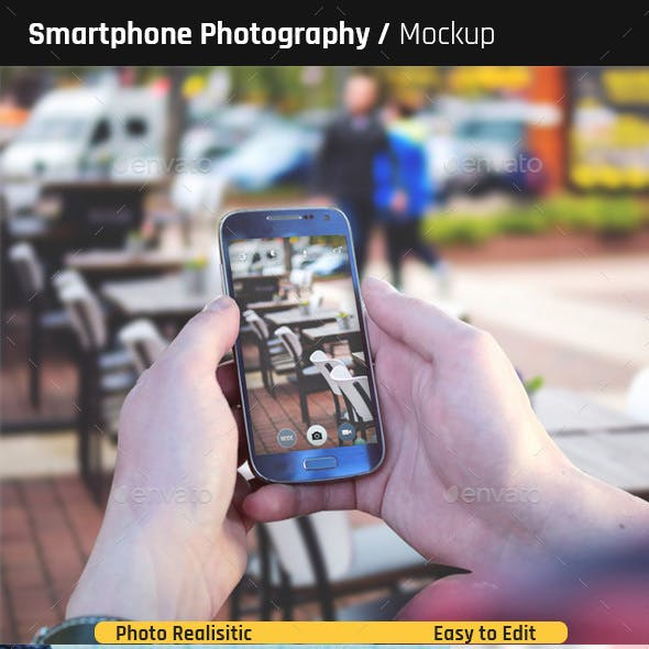 Smartphone Photography Mock-Ups